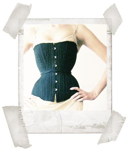 homemade corset